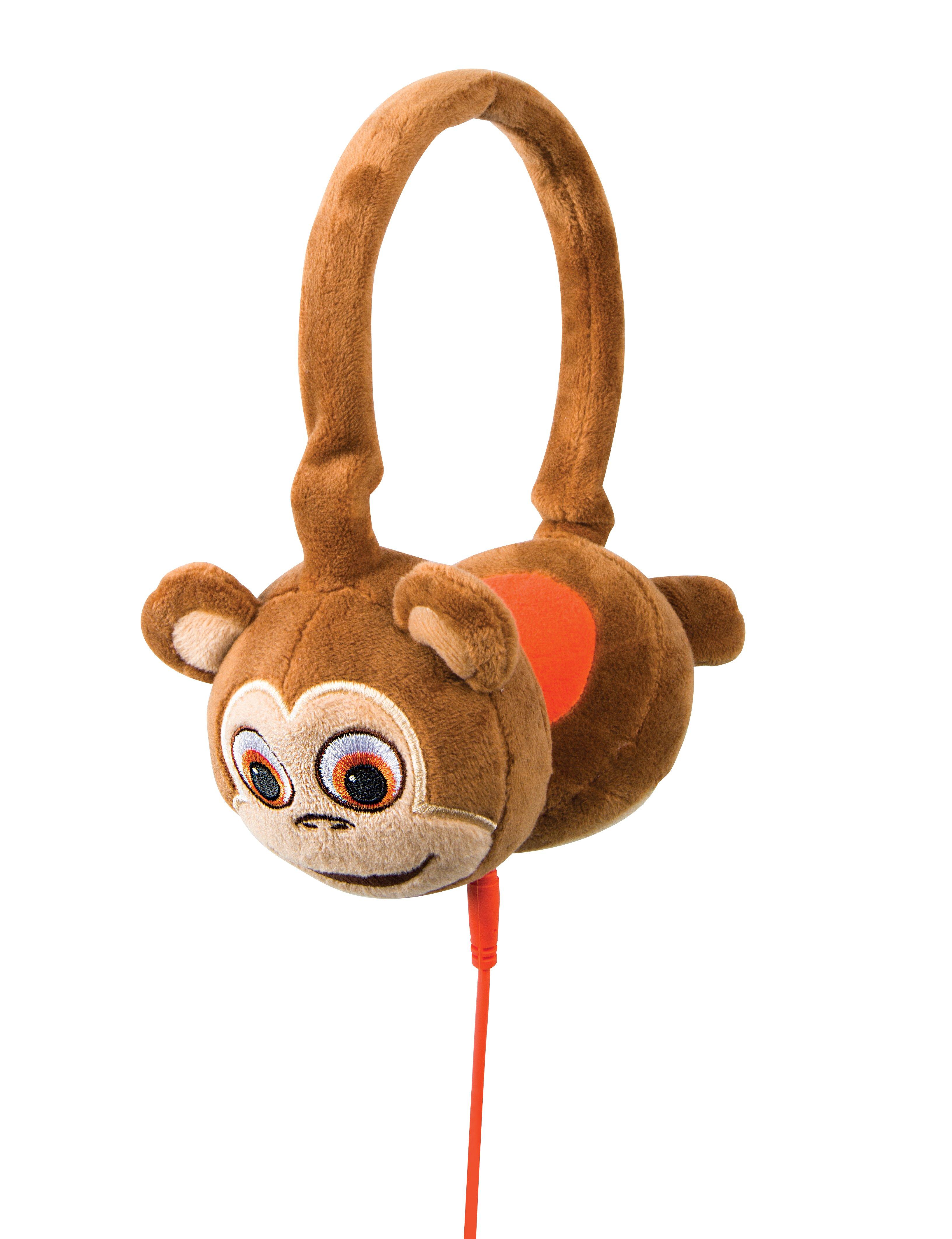 TabZoo Headphone Plush Monkey Image