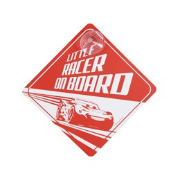 Cars 3 Child on Board sign Image