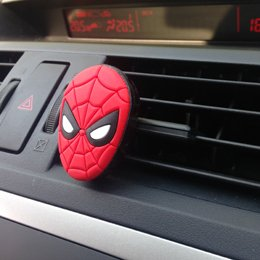 Marvel Vent Mount Air Freshener - Spider Man Image