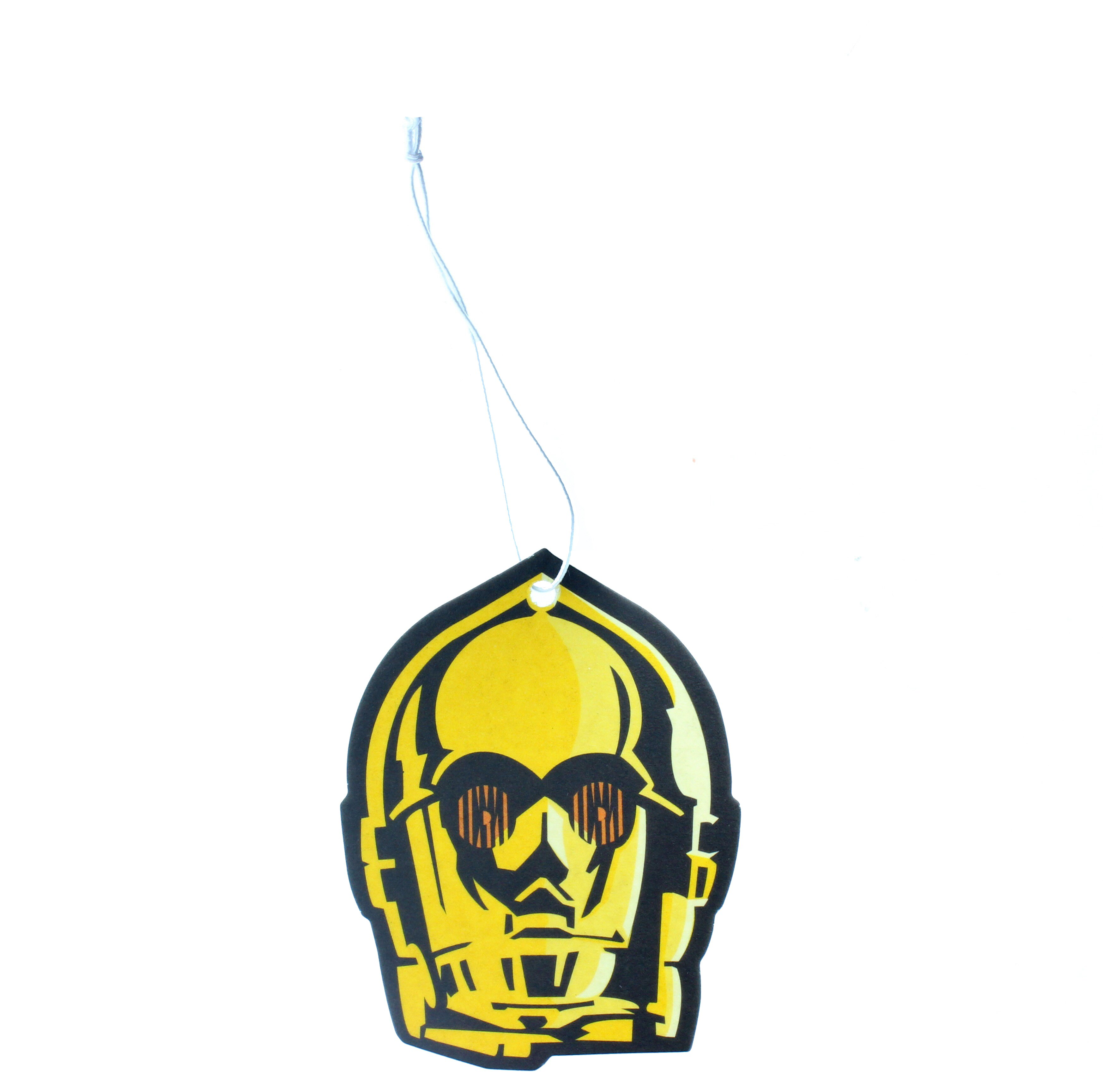 SW Paper Air Freshener C3PO - Ice Cool Scent Image