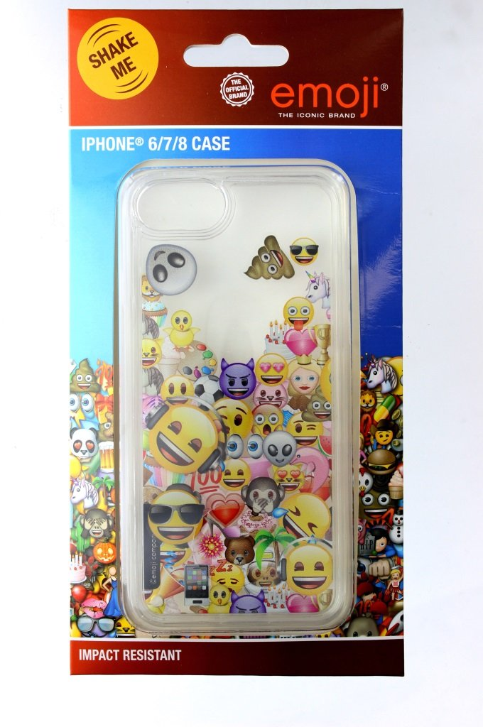Emoji iPhone cover with novel water design Image
