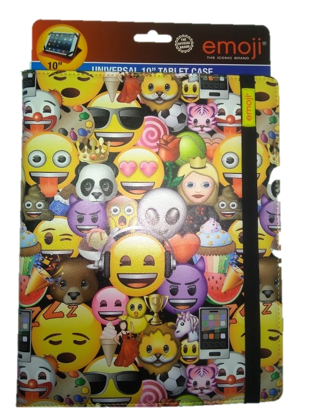 Emoji universal 10 inch tablet cover Image