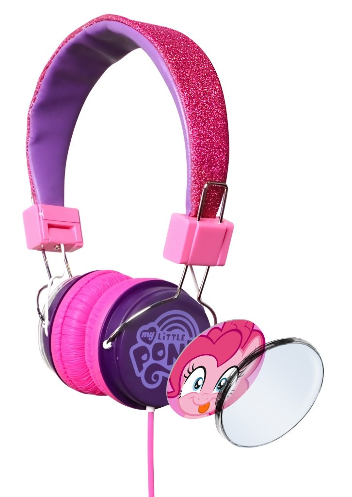 My Little Pony headphones with changeable earcup design Image